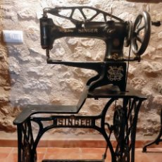 Antigüedades: MÁQUINA COSER SINGER ZAPATERO 29K51. Lote 204514031