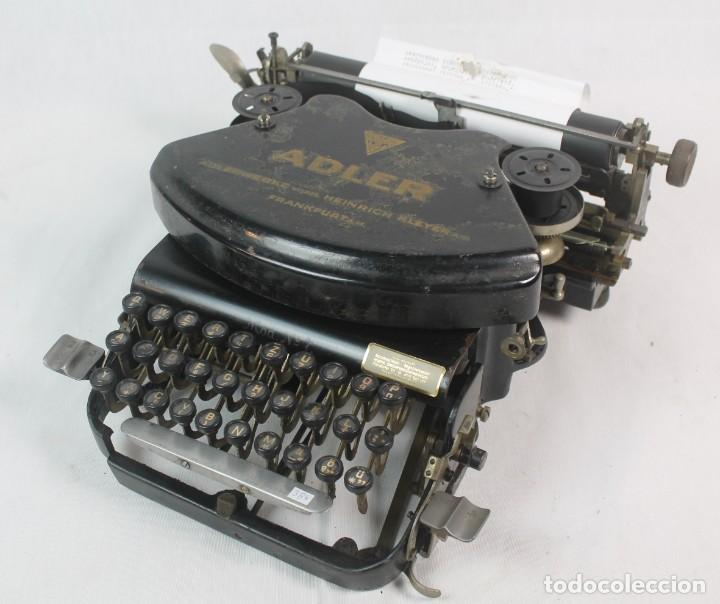 ANTIGUA MAQUINA DE ESCRIBIR ADLER- (Antigüedades - Técnicas - Máquinas de Escribir Antiguas - Otras)