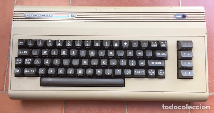 COMPUTADORA COMPUTER COMMODORE 64 (Antigüedades - Técnicas - Ordenadores hasta 16 bits (anteriores a 1982))
