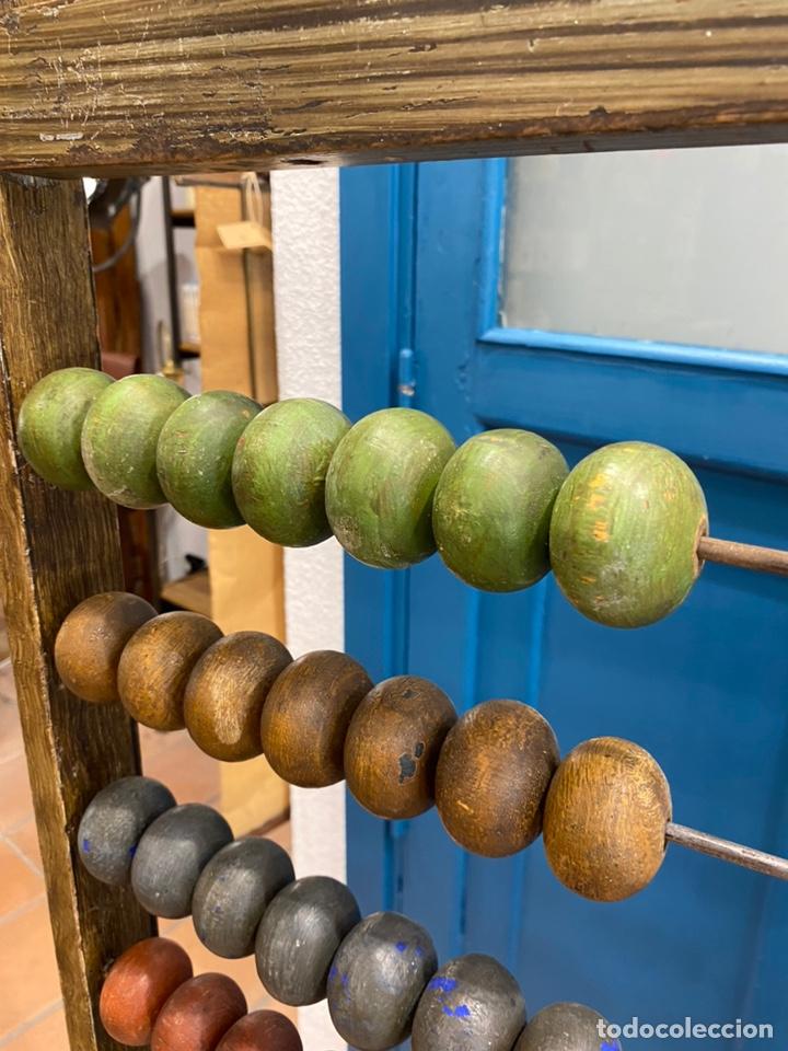 Antigüedades: Ábaco de colegio antiguo - Foto 5 - 204617041