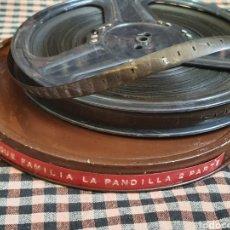 Antigüedades: PELICULA DE PATHE BABY 9,5 MILÍMETROS ARRASTRE CENTRAL, QUE FAMILIA LA PANDILLA SEGUNDA PARTE.. Lote 204630833