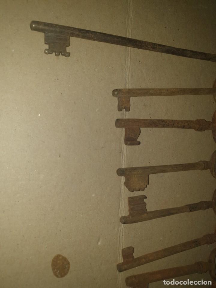 Antigüedades: Lote llaves 11 - Foto 2 - 204634048