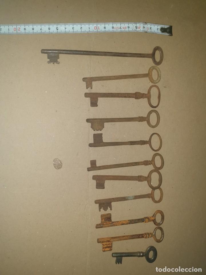 Antigüedades: Lote llaves 11 - Foto 4 - 204634048