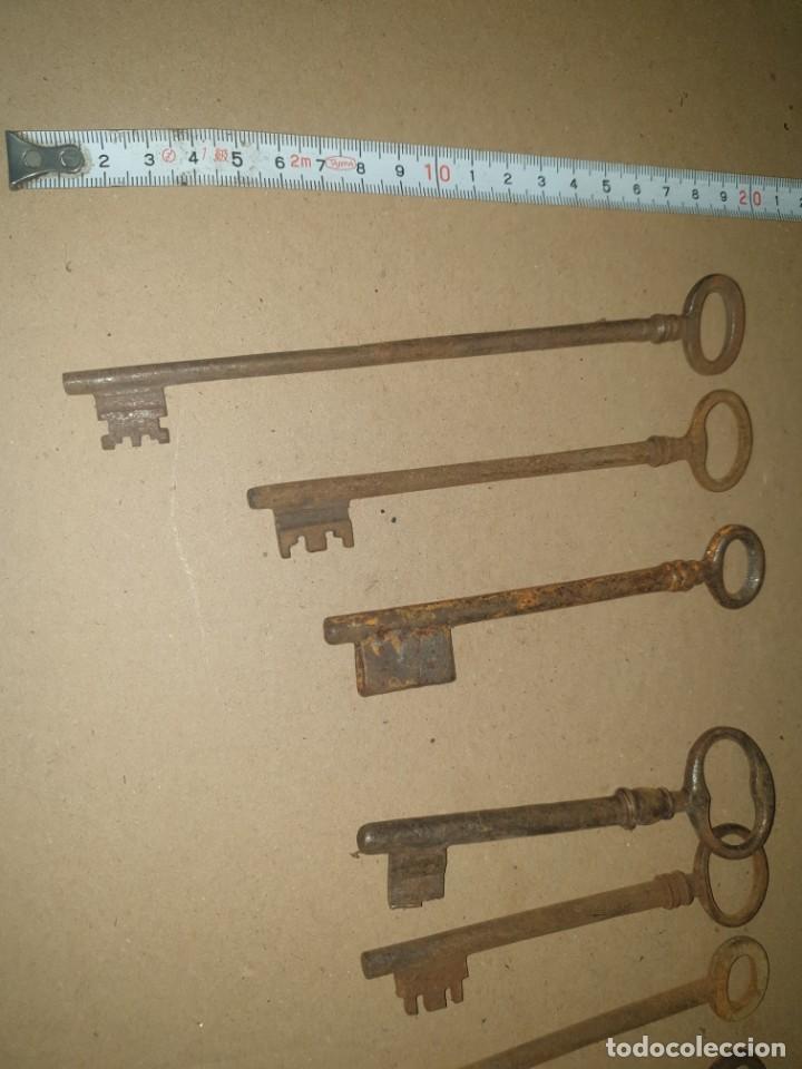 Antigüedades: Lote llaves 10 - Foto 2 - 204634418