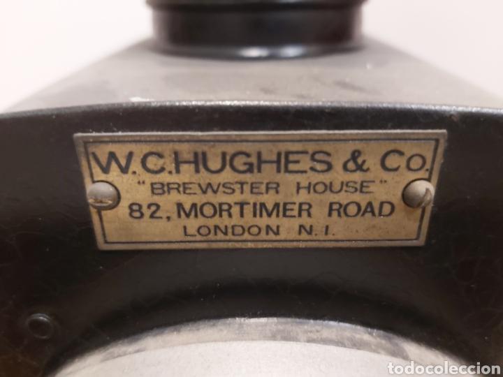 Antigüedades: ANTIGUA LINTERNA MÁGICA ELÉCTRICA DE GRANDES DIMENSIONES W.C.HUGHES & CO - Foto 4 - 204642188