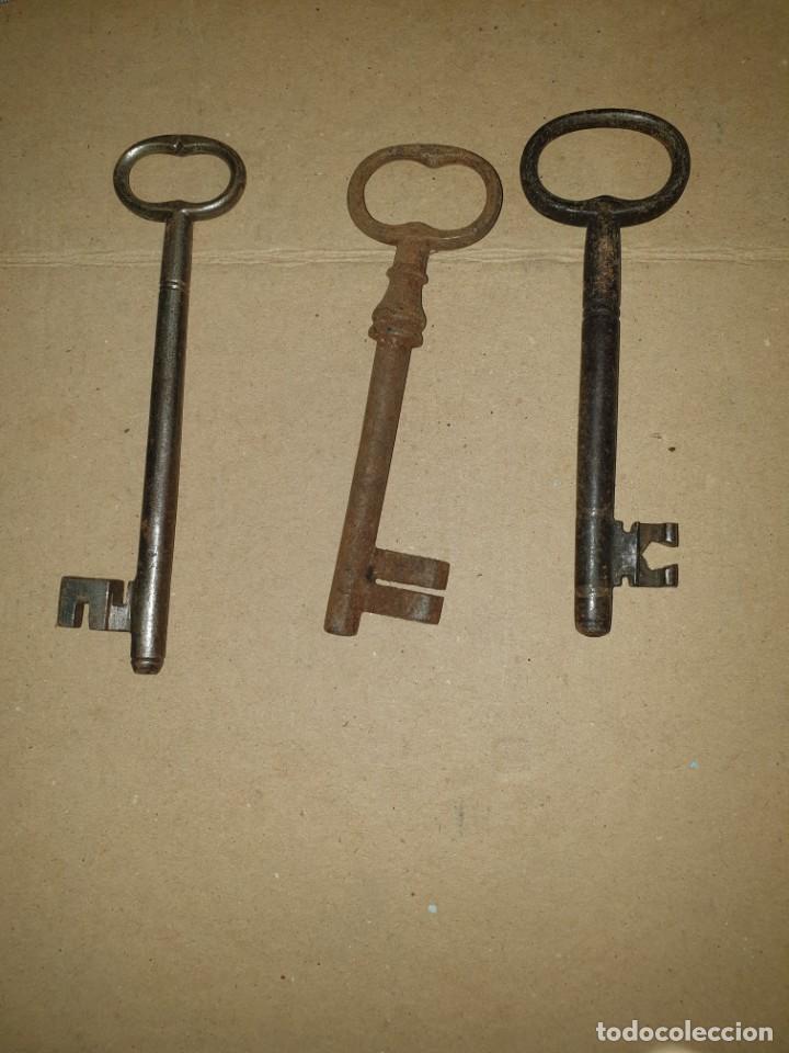 Antigüedades: 3 llaves - Foto 2 - 204649060