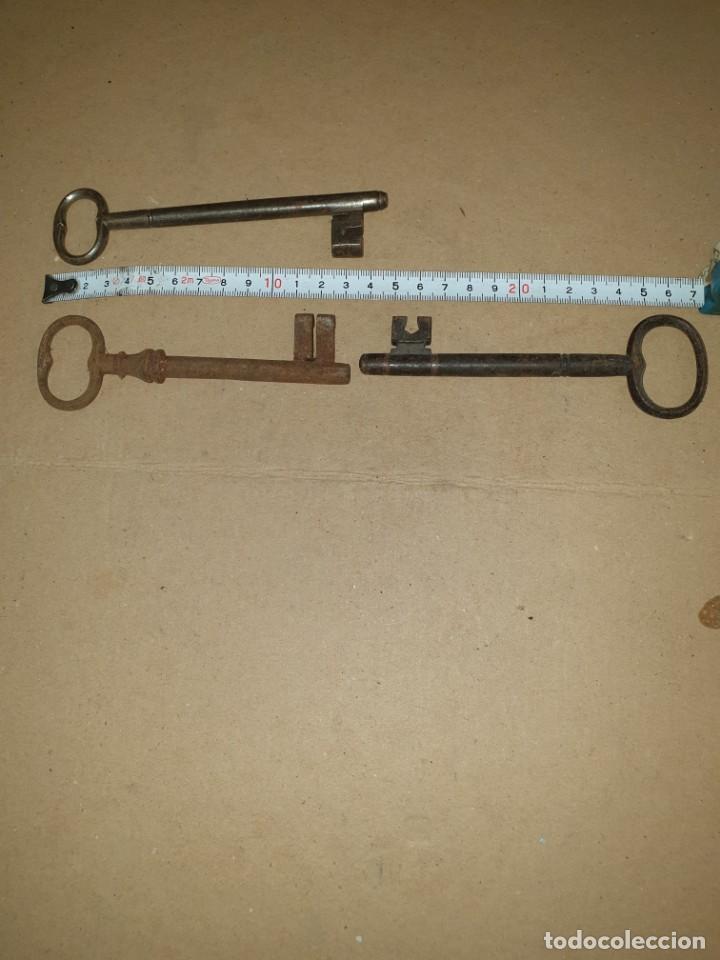Antigüedades: 3 llaves - Foto 3 - 204649060