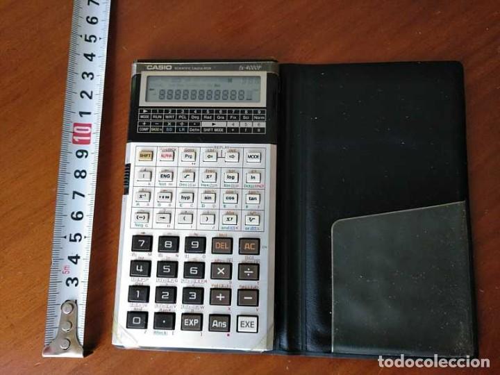 Antigüedades: CALCULADORA CASIO fx-4000P SCIENTIFIC CALCULATOR CASIO fx 4000 P - FUNCIONANDO AÑOS 80 PROGRAMMABLE - Foto 21 - 204684196