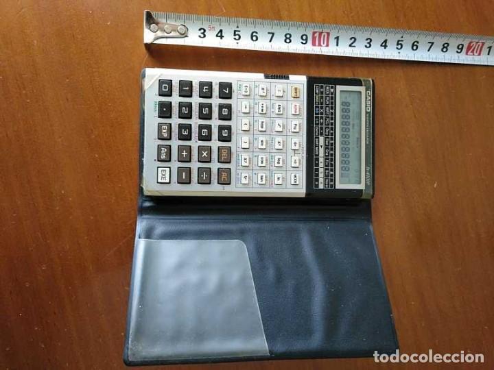 Antigüedades: CALCULADORA CASIO fx-4000P SCIENTIFIC CALCULATOR CASIO fx 4000 P - FUNCIONANDO AÑOS 80 PROGRAMMABLE - Foto 24 - 204684196