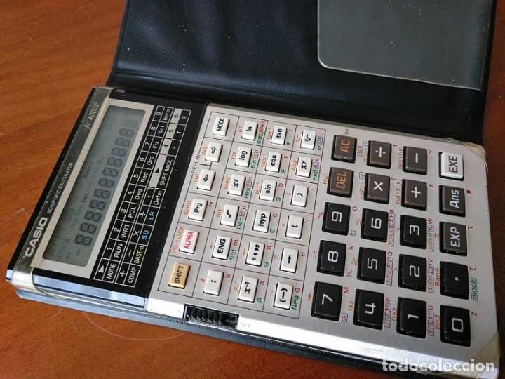 Antigüedades: CALCULADORA CASIO fx-4000P SCIENTIFIC CALCULATOR CASIO fx 4000 P - FUNCIONANDO AÑOS 80 PROGRAMMABLE - Foto 30 - 204684196