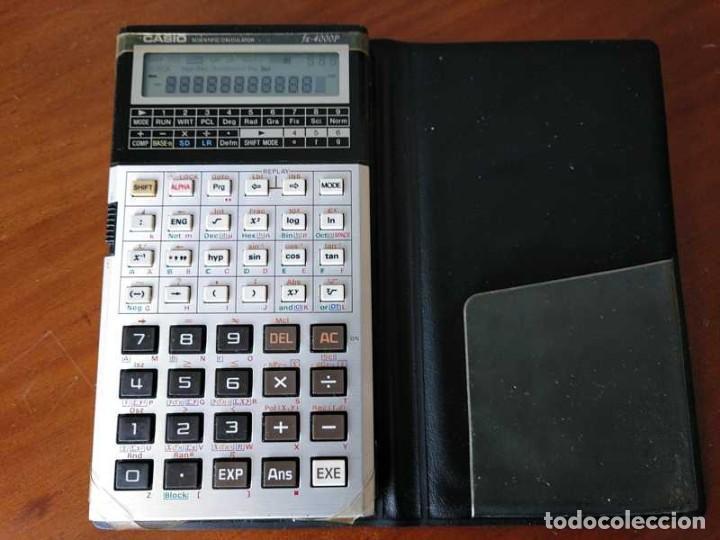 Antigüedades: CALCULADORA CASIO fx-4000P SCIENTIFIC CALCULATOR CASIO fx 4000 P - FUNCIONANDO AÑOS 80 PROGRAMMABLE - Foto 39 - 204684196