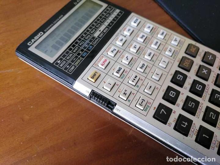 Antigüedades: CALCULADORA CASIO fx-4000P SCIENTIFIC CALCULATOR CASIO fx 4000 P - FUNCIONANDO AÑOS 80 PROGRAMMABLE - Foto 51 - 204684196