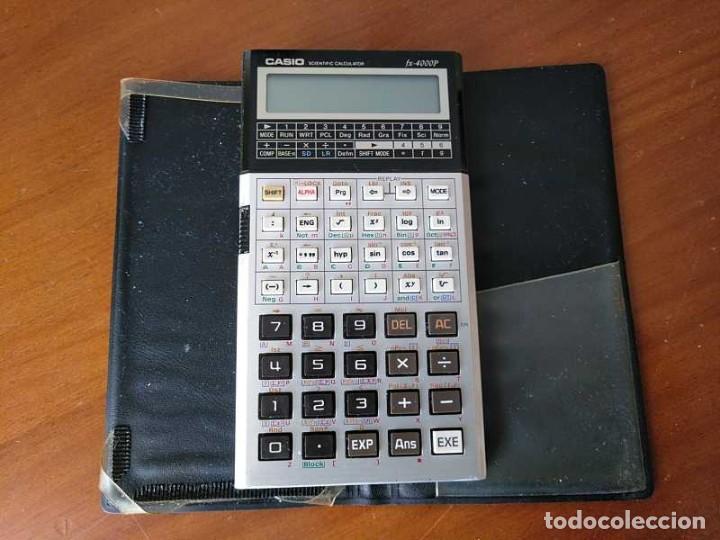 Antigüedades: CALCULADORA CASIO fx-4000P SCIENTIFIC CALCULATOR CASIO fx 4000 P - FUNCIONANDO AÑOS 80 PROGRAMMABLE - Foto 65 - 204684196