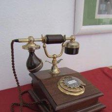 Teléfonos: TELÉFONO ESTILO ANTIGUO ALEMÁN MODELO LYON AÑOS 1960 / 70 USO EN LAS OFICINAS DE CORREOS EN ALEMANIA. Lote 204702580
