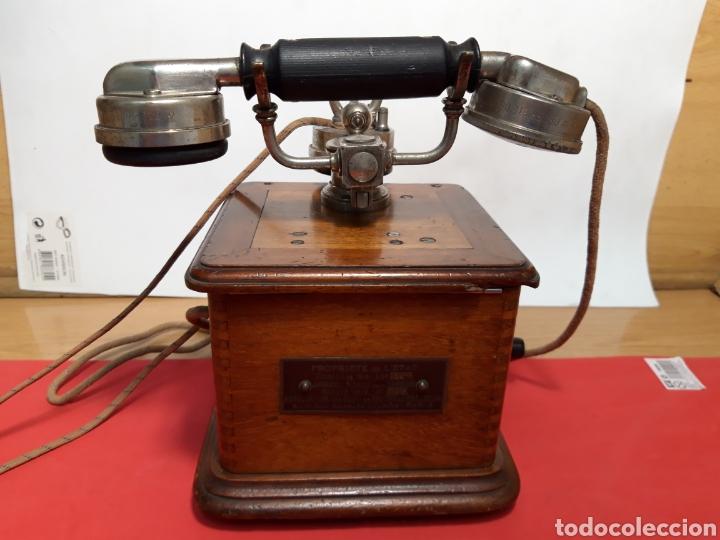 ANTIGUO TELEFONO DE MAGNETO AÑOS 20 (Antigüedades - Técnicas - Teléfonos Antiguos)