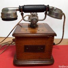 Teléfonos: ANTIGUO TELEFONO DE MAGNETO AÑOS 20. Lote 204707185