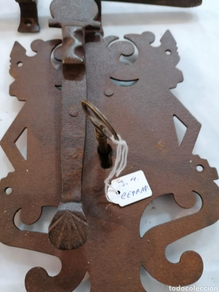 Antigüedades: Cerradura de forja - Foto 4 - 204742512