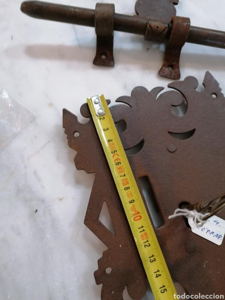 Antigüedades: Cerradura de forja - Foto 5 - 204742512