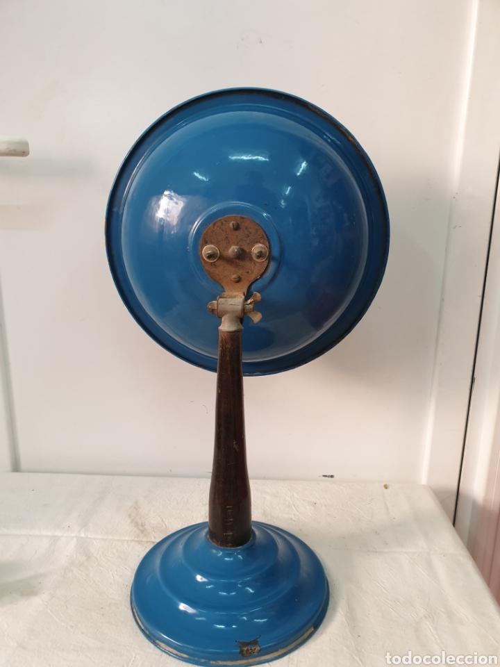 Antigüedades: Estufa de pantalla, hierro esmaltado - Foto 3 - 204744321