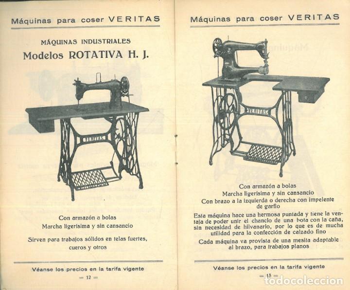 Antigüedades: MÁQUINAS PARA COSER VERITAS. - Foto 4 - 242817565