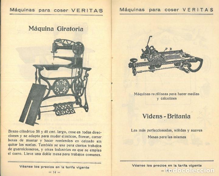 Antigüedades: MÁQUINAS PARA COSER VERITAS. - Foto 5 - 242817565