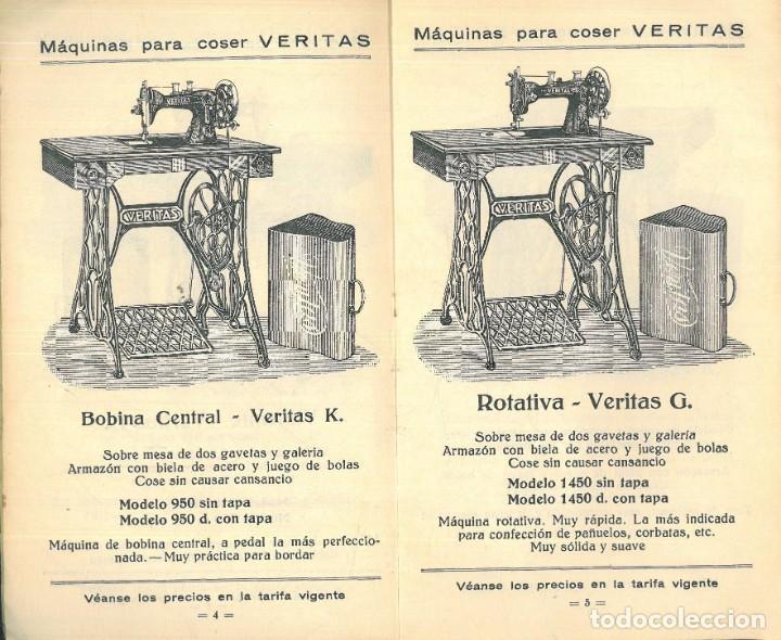 Antigüedades: MÁQUINAS PARA COSER VERITAS. - Foto 6 - 242817565