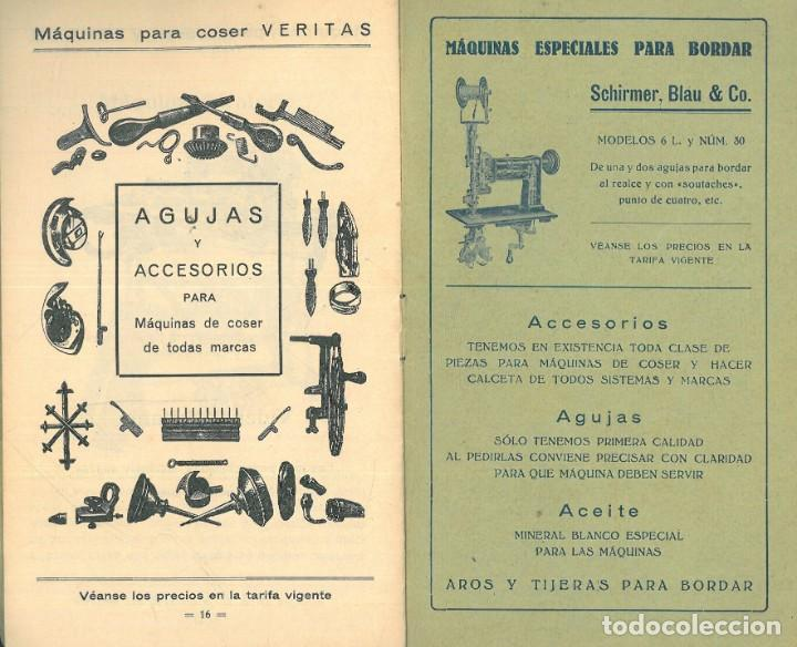 Antigüedades: MÁQUINAS PARA COSER VERITAS. - Foto 8 - 242817565