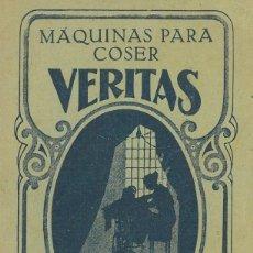 Antigüedades: MÁQUINAS PARA COSER VERITAS.. Lote 204730845