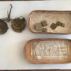 Antigüedades: BALANZA PARA PESAR ORO. Lote 204758195
