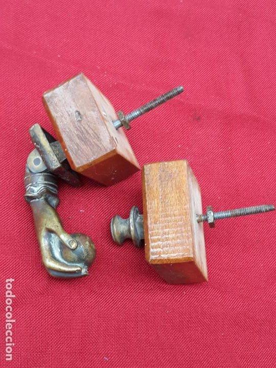 LLAMADOR O ALDABA ANTIGUA EN BRONCE -3 - (Antigüedades - Técnicas - Cerrajería y Forja - Llamadores Antiguos)