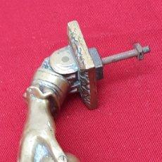 Antigüedades: LLAMADOR O ALDABA ANTIGUA EN BRONCE - 2 -. Lote 204790408