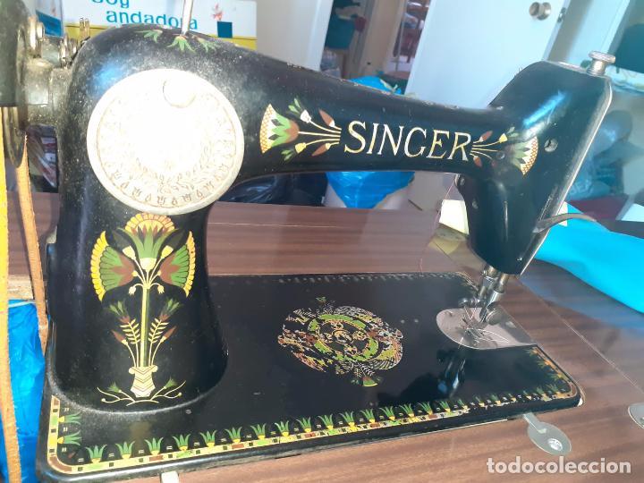 MAQUINA DE COSER SINGER.1920 (Antigüedades - Técnicas - Máquinas de Coser Antiguas - Singer)