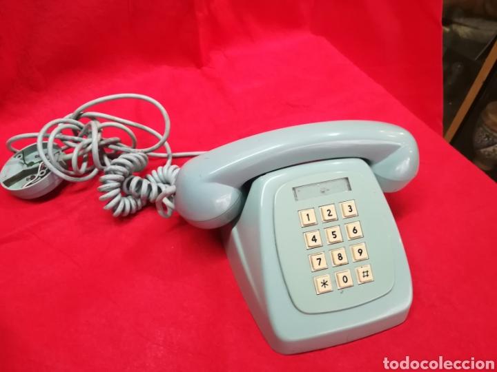 TELÉFONO VINTAGE AZUL (Antigüedades - Técnicas - Teléfonos Antiguos)