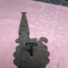 Antigüedades: CERRADURA DE ARCA O BAUL. Lote 204971791
