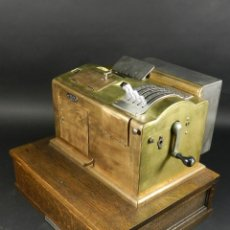 Antigüedades: CAJA REGISTRADORA NATIONAL MOD. 143-F AÑO 1922 NATIONAL CASH REGISTER. Lote 204974411