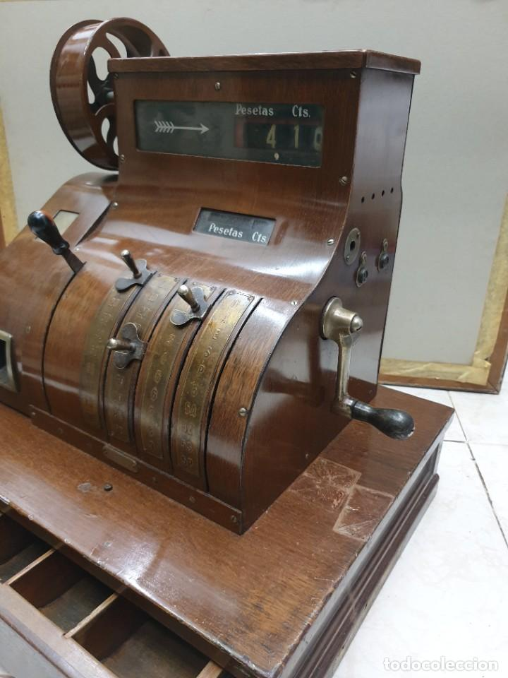 CAJA REGISTRADORA NATIONAL 1900 (Antigüedades - Técnicas - Aparatos de Cálculo - Cajas Registradoras Antiguas)