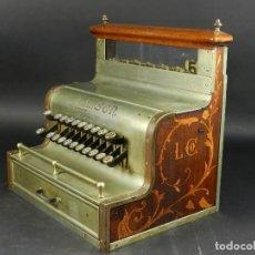 Antigüedades: RARISIMA CAJA REGISTRADORA LAMSON MOD.10 AÑO 1895 LAMSON CASH REGISTER RARE!!!. Lote 204991943