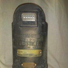 Antigüedades: VATIMETRO B Y B - MADRID AÑO 1903 - EXCEPCIONAL ANTIGUO CONTADOR ELECTRICO.. Lote 204996447