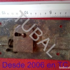 Antigüedades: TUBAL CERRADURA MUY ANTIGUA BJ1. Lote 205022676