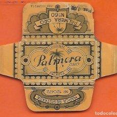 Antiquités: ESPAÑA-FUNDA HOJA AFEITAR Y CUCHILLA MARCA PALMERA-LAMETTA DA BARBA,RAZOR BLADE,LAME DE RASOIR. Lote 205038250