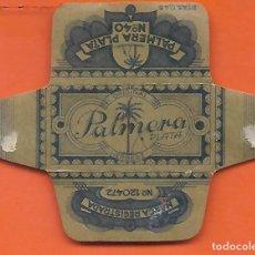 Antigüedades: ESPAÑA-FUNDA HOJA AFEITAR Y CUCHILLA MARCA PALMERA-LAMETTA DA BARBA,RAZOR BLADE,LAME DE RASOIR. Lote 205038497