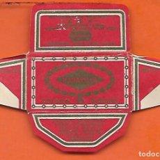 Antigüedades: ESPAÑA-FUNDA HOJA AFEITAR Y CUCHILLA MARCA MARAVILLA -LAMETTA DA BARBA,RAZOR BLADE,LAME DE RASOIR. Lote 205042887