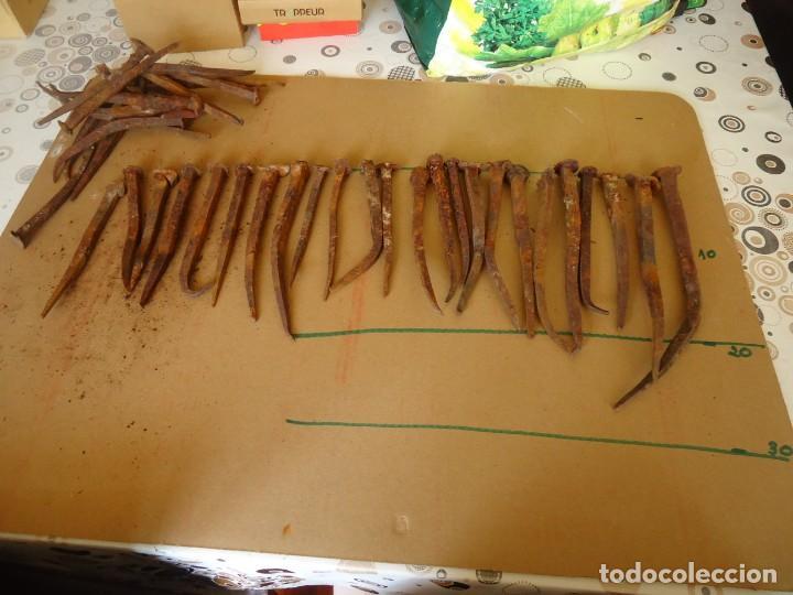 Antigüedades: CLAVOS DE FORJA - Foto 3 - 205092893