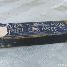 Antigüedades: SUAVIZADOR NAVAJAS PIEL ANTE. Lote 205107156