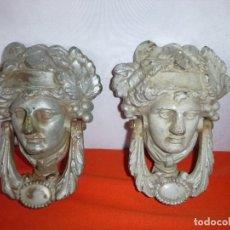 Antigüedades: ANTIGUAS LLAMADORES EN HIERRO FUNDIDO. Lote 205122961