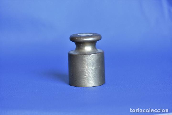 Antigüedades: PESA DE METAL DE 500 GRS OHAUS - Foto 2 - 205127170