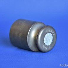 Antigüedades: PESA DE METAL DE 500 GRS OHAUS. Lote 205127170