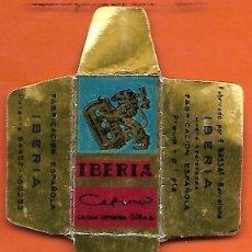 Antiquités: ESPAÑA-FUNDA HOJA AFEITAR Y CUCHILLA MARCA IBERIA -LAMETTA DA BARBA,RAZOR BLADE,LAME DE RASOIR. Lote 205127746