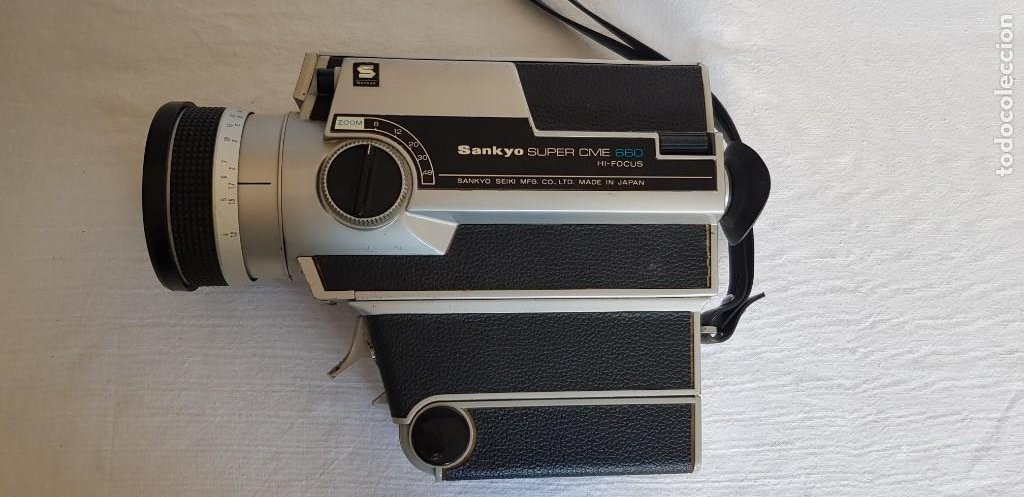 TOMAVISTAS SANKYO - SUPER CME 660 - HI FOCUS (VER FOTOS) (Antigüedades - Técnicas - Aparatos de Cine Antiguo - Tomavistas Antiguos)