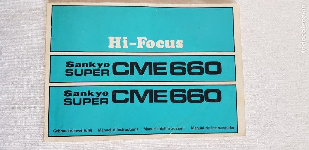 Antigüedades: Tomavistas Sankyo - Super CME 660 - Hi Focus (ver fotos) - Foto 6 - 205165595